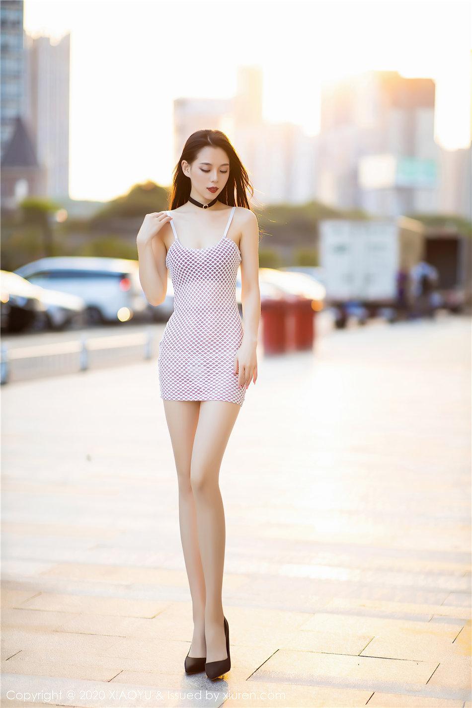 XIAOYU语画界 极品身材美女言沫超短裙美臀诱惑写真 Vol.376